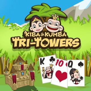 Kiba & Kumba Tri Towers Solitaire
